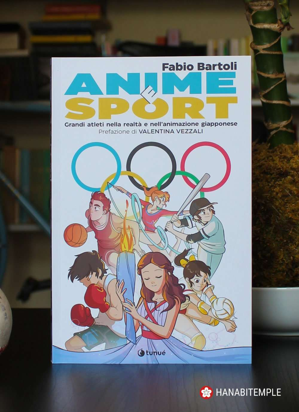 Anime e sport di Fabio Bartoli, copertina a cura di Lorenza di Sepio